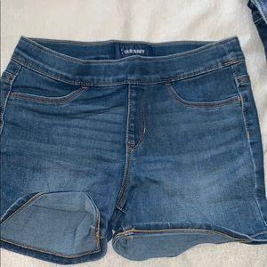 Girls Old Navy Jegging Shorts